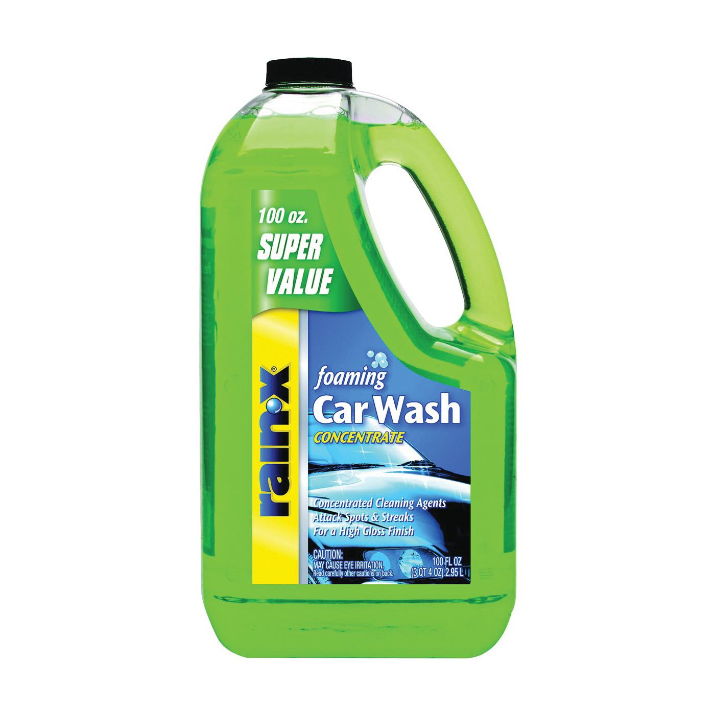 Picture of Rain-X 5072084 Car Wash, 100 oz Package, Liquid, Mild
