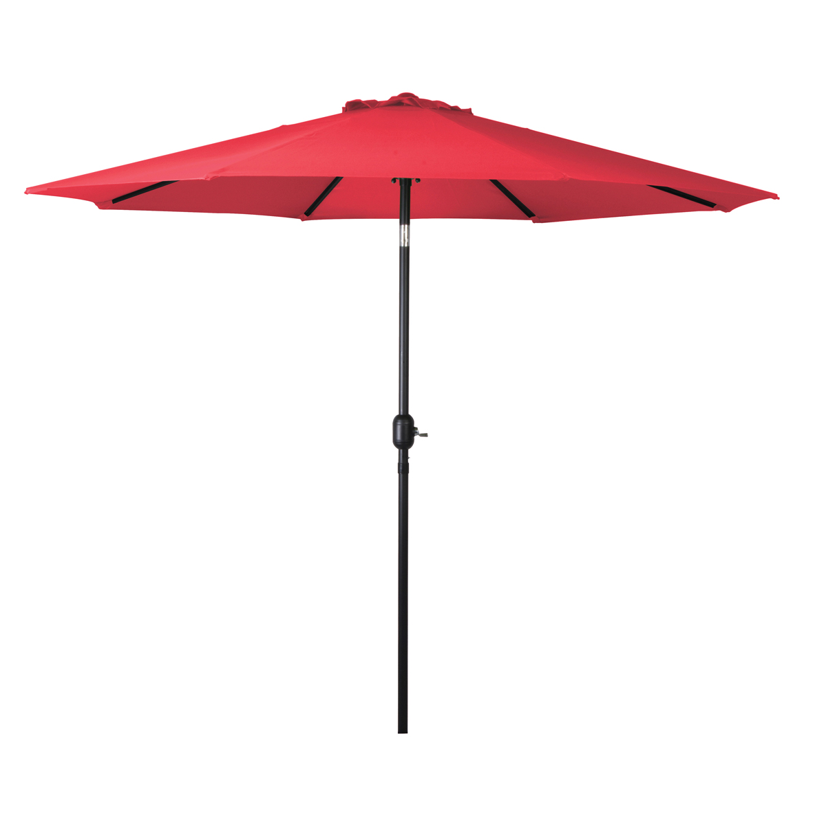 Picture of Seasonal Trends 69867 Crank Umbrella, 92.9 in H, 107.9 in W Canopy, 107.9 in L Canopy, Round Canopy, Steel Frame