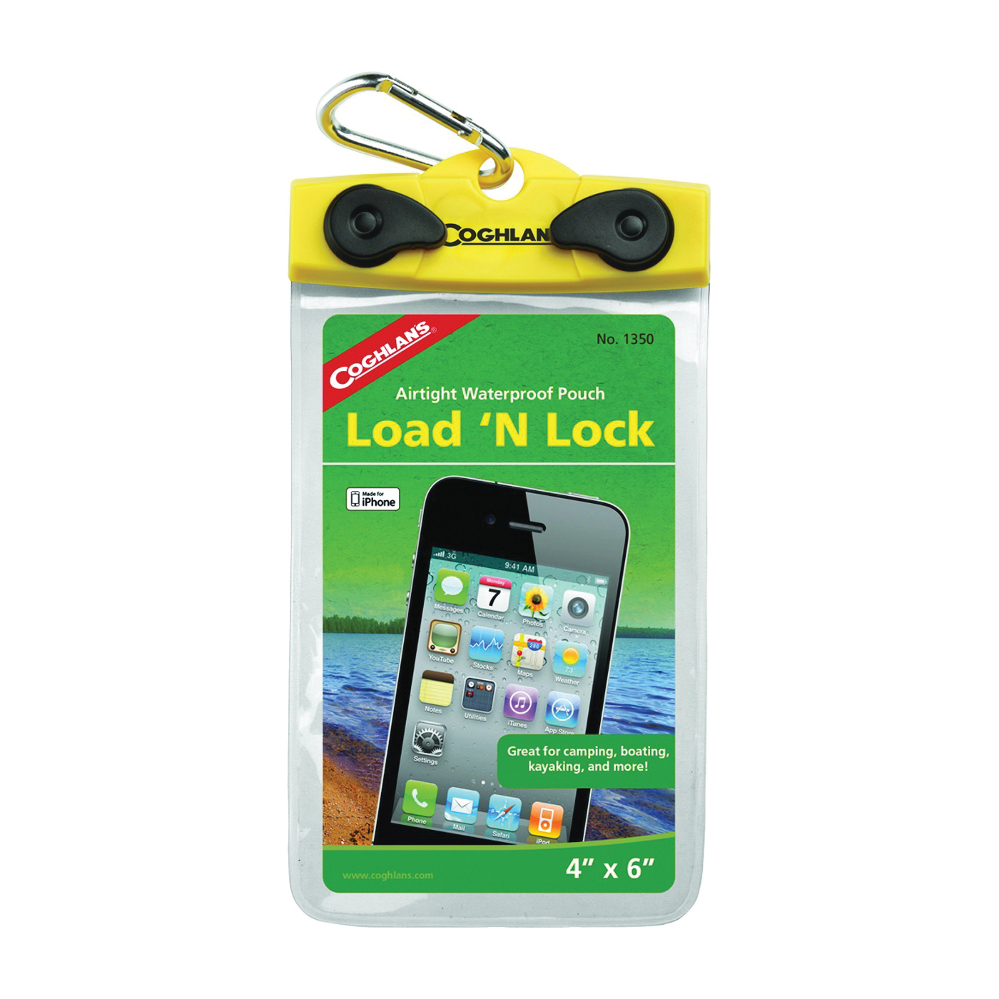 Picture of COGHLAN'S Load'N Lock 1350 Cell Phone Pouch, Plastic