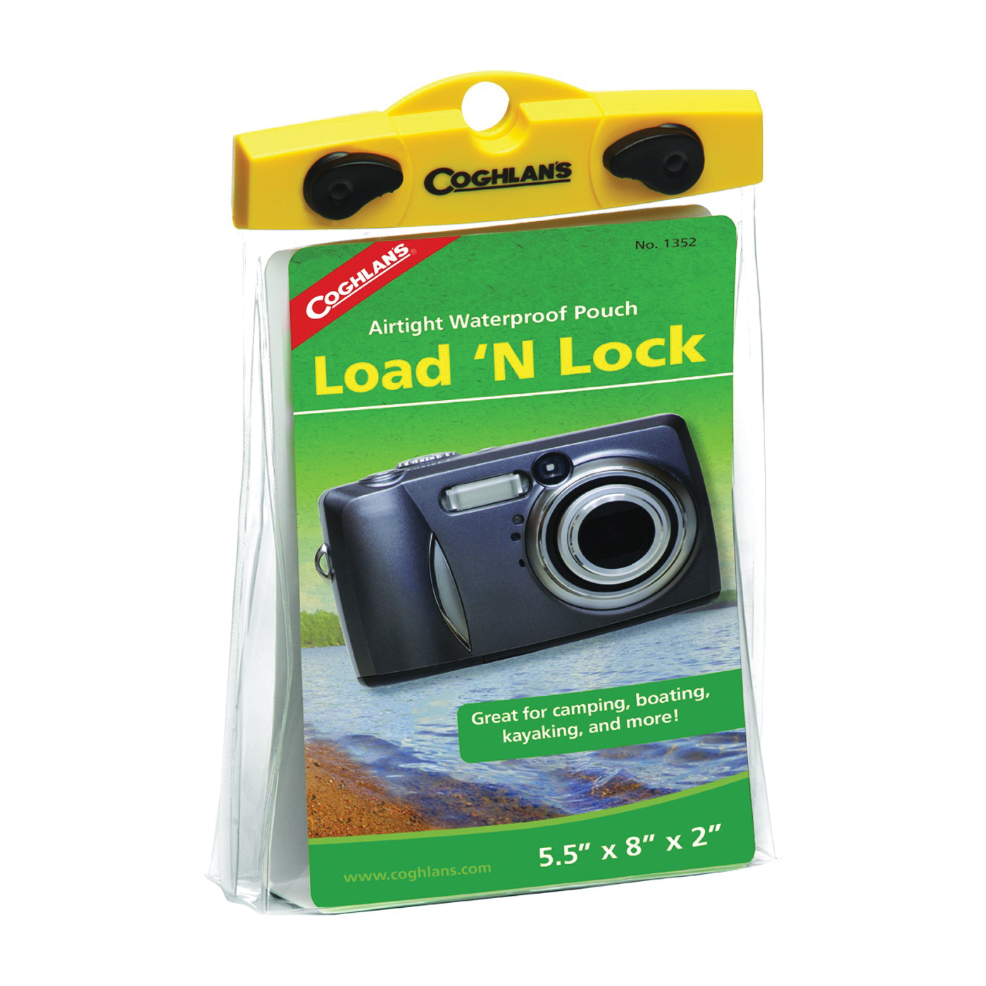 Picture of COGHLAN'S Load'N Lock 1352 Dry Pouch, Plastic