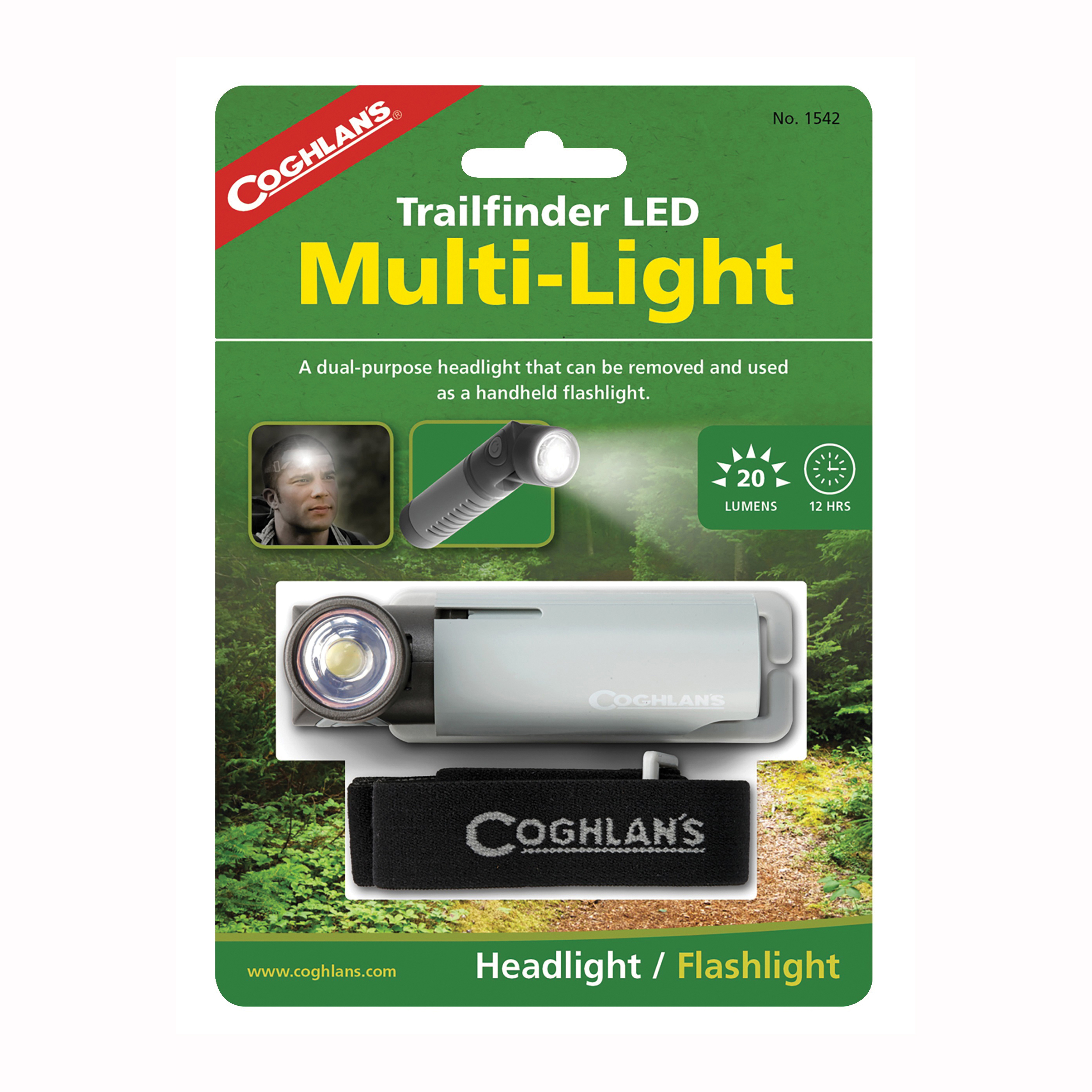 Picture of COGHLAN'S 1542 Trailfinder LED Multi-Light, Battery, LED Lamp, 20 Lumens Lumens