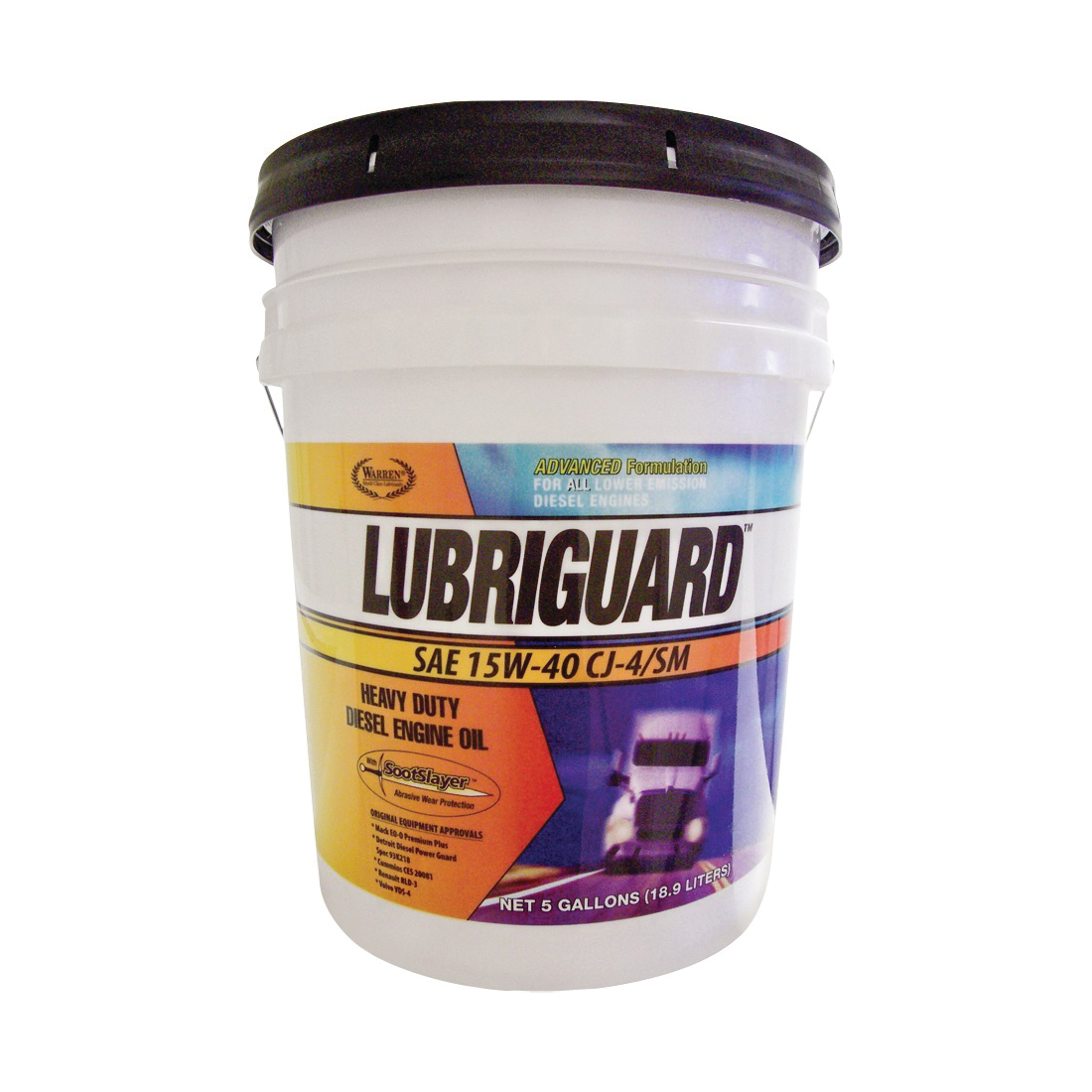 Picture of Lubriguard 702543 Engine Oil, 15W-40, 5 gal Package