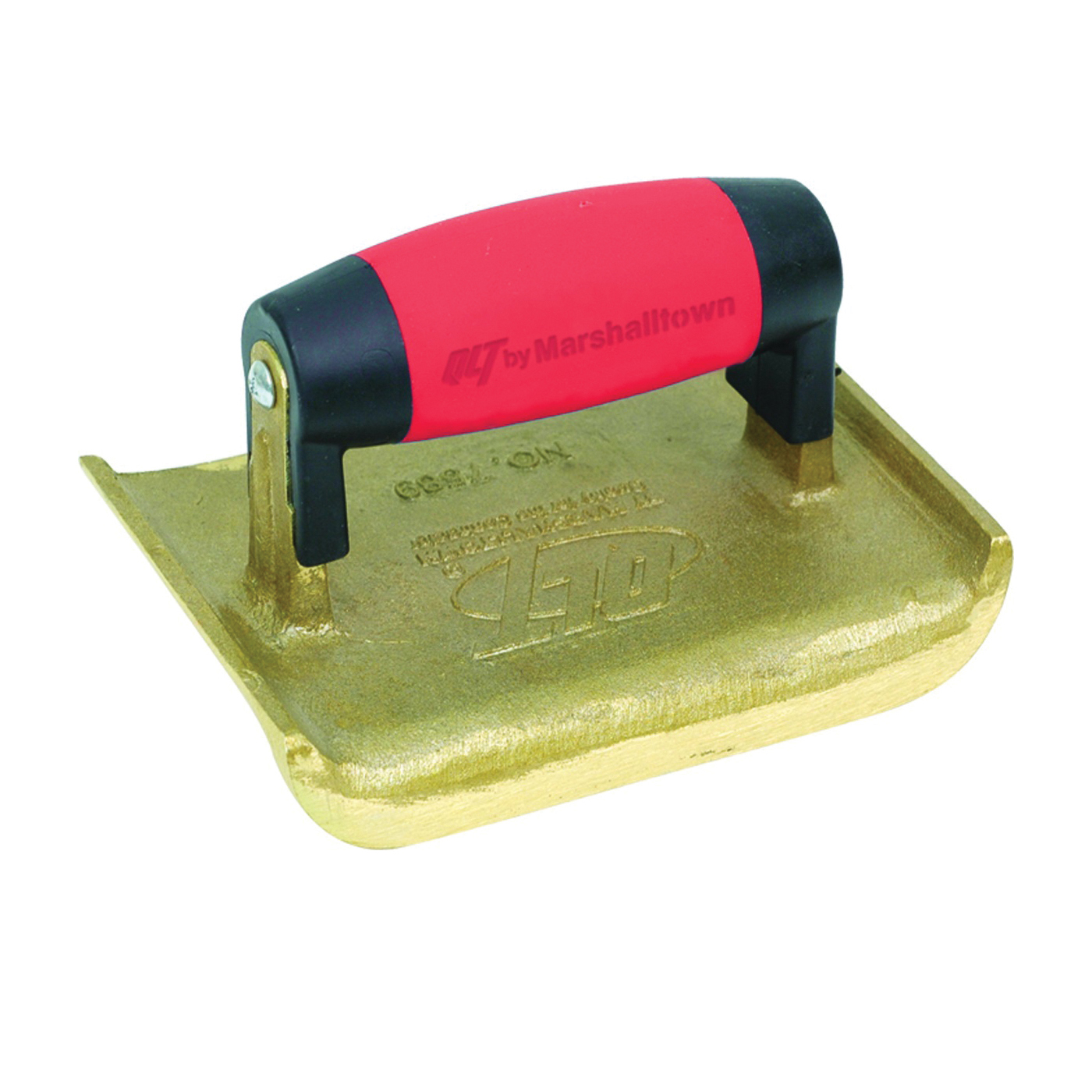 Picture of Marshalltown 7588 Hand Edger, 6 in L Blade, 2-3/4 in W Blade, Bronze Blade, 5/8 in Lip, 1/4 in Lip Radius