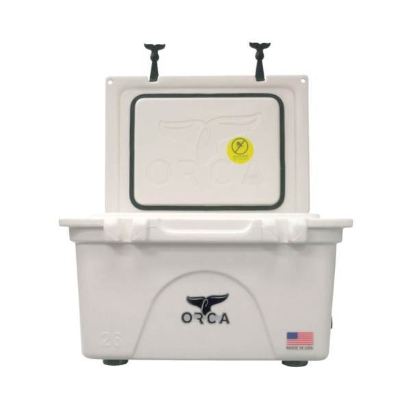 Picture of ORCA ORCW026 Cooler, 26 qt Cooler, White, Up to 10 days Ice Retention