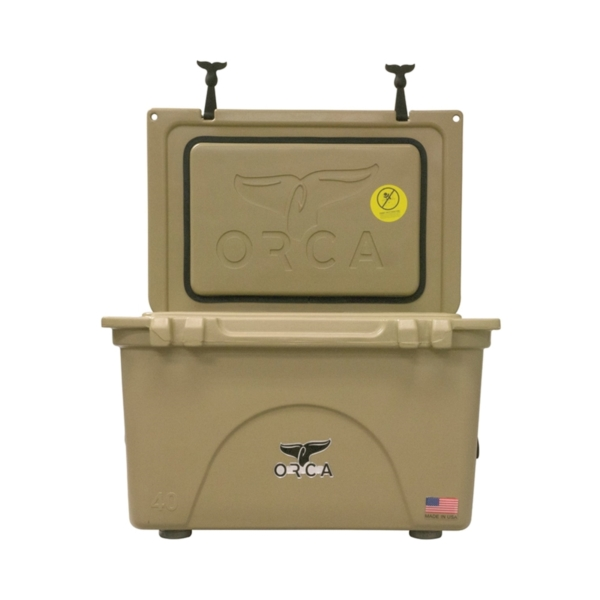 Picture of ORCA ORCT040 Cooler, 40 qt Cooler, Tan, Up to 10 days Ice Retention