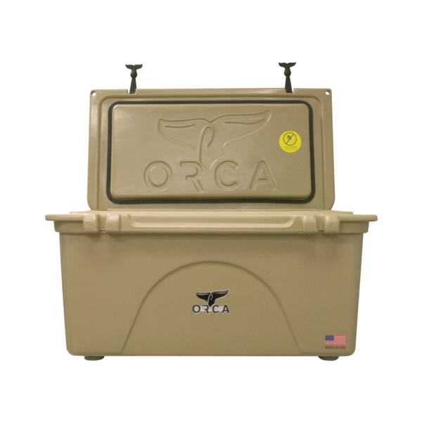 Picture of ORCA ORCT075 Cooler, 75 qt Cooler, Tan, Up to 10 days Ice Retention