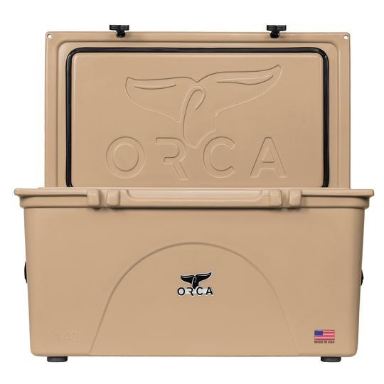 Picture of ORCA ORCT140 Cooler, 140 qt Cooler, Tan, Up to 10 days Ice Retention