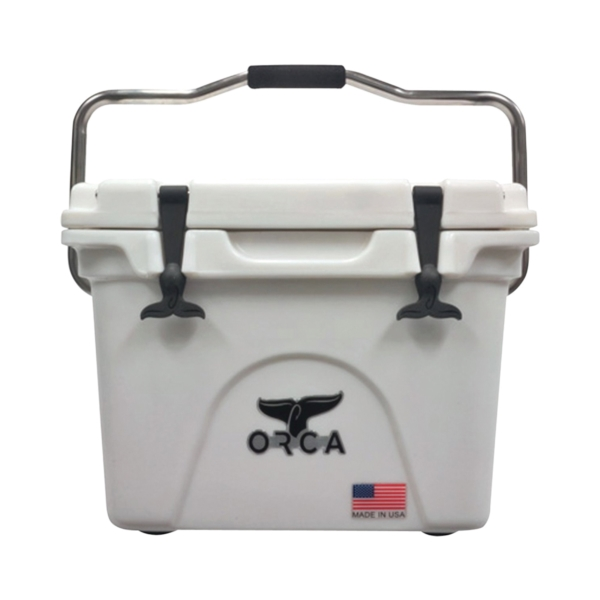 Picture of ORCA ORCW020 Cooler, 20 qt Cooler, White, Up to 10 days Ice Retention
