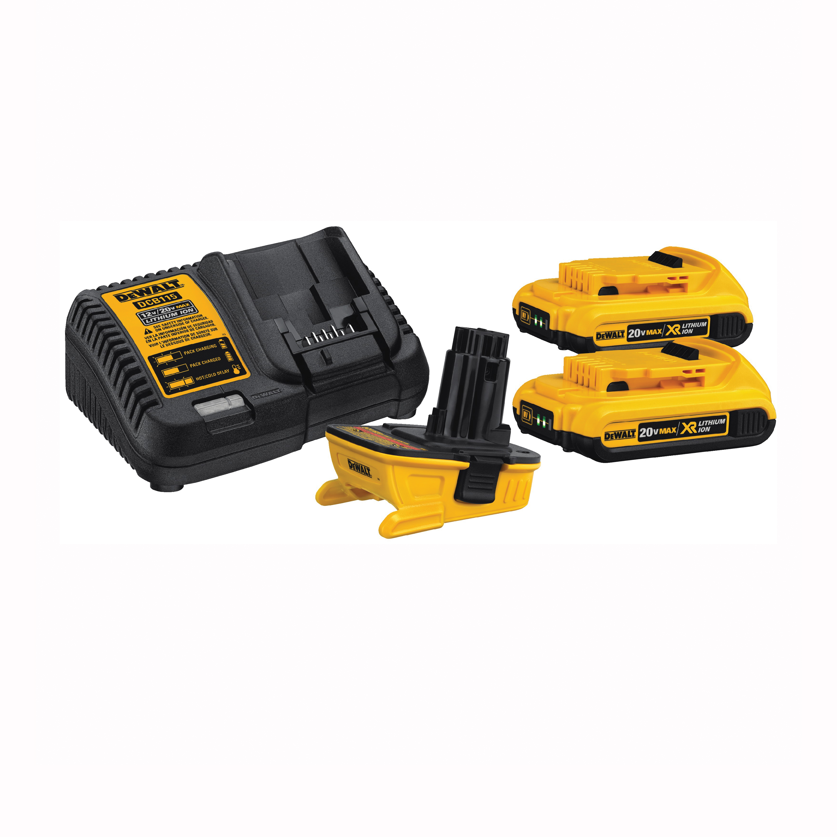 Picture of DeWALT DCA2203C Battery Adapter Kit, 2 Ah, Battery Included: Yes