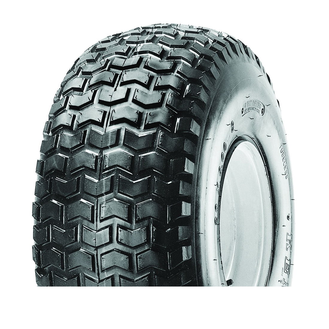 Picture of MARTIN WHEEL 808-2TR-I Turf Rider Tire, Tubeless, For: 8 x 7 in Rim Lawnmowers and Tractors