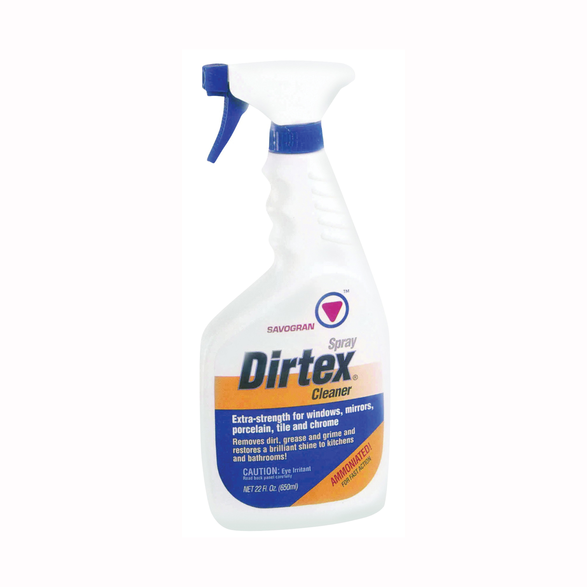 Picture of Dirtex 10763 Cleaner, 22 oz Package, Bottle, Liquid, Ammonia, Clear