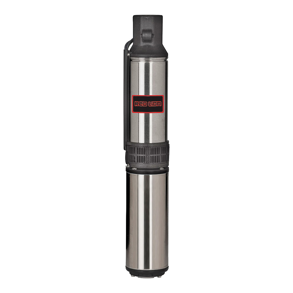 Picture of Red Lion 14942402 Well Pump, 6 A, 230 V, 0.5 hp, 1-1/4 in Connection, 231 ft Max Head, 12 gpm, Stainless Steel