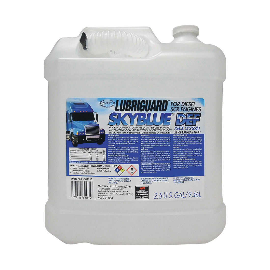 Picture of Lubriguard 720152 Fuel Additive Diesel, 2.5 gal Package