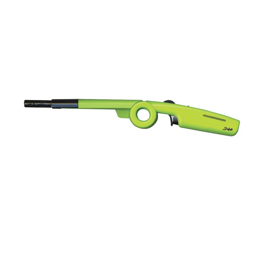Picture of Scripto BGM7R-1/12CD Folding Utility Lighter, Butane, Neon Green