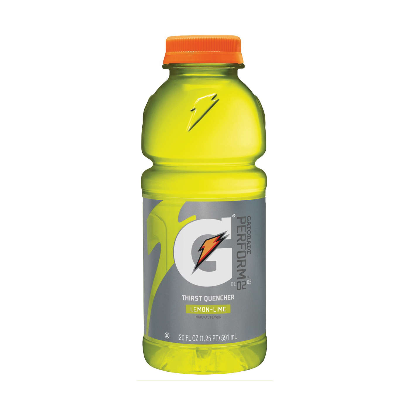 Picture of Gatorade G 32868 Thirst Quencher Sports Drink, Liquid, Lemon-Lime Flavor, 20 oz Package, Bottle
