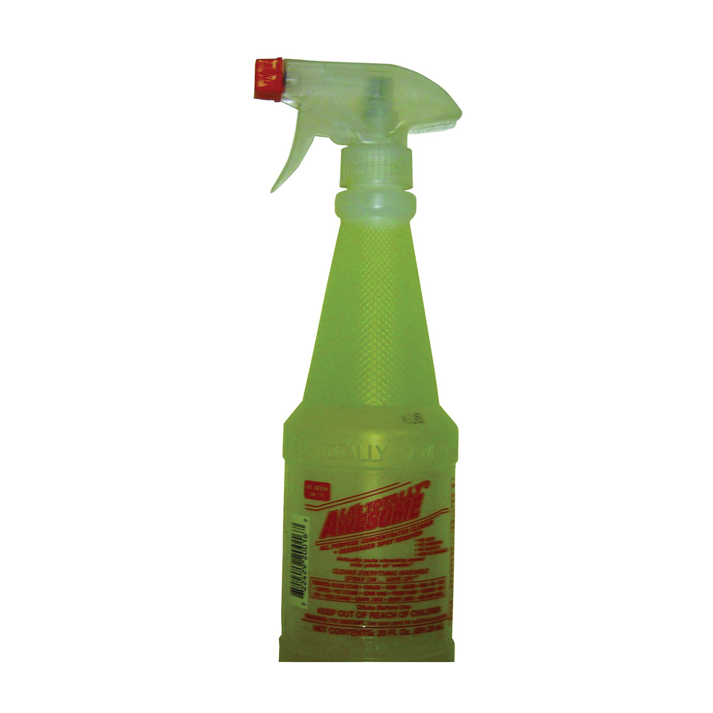 Picture of LA's TOTALLY AWESOME 201 Cleaner/Degreaser, 20 oz Package, Bottle, Liquid, Orange