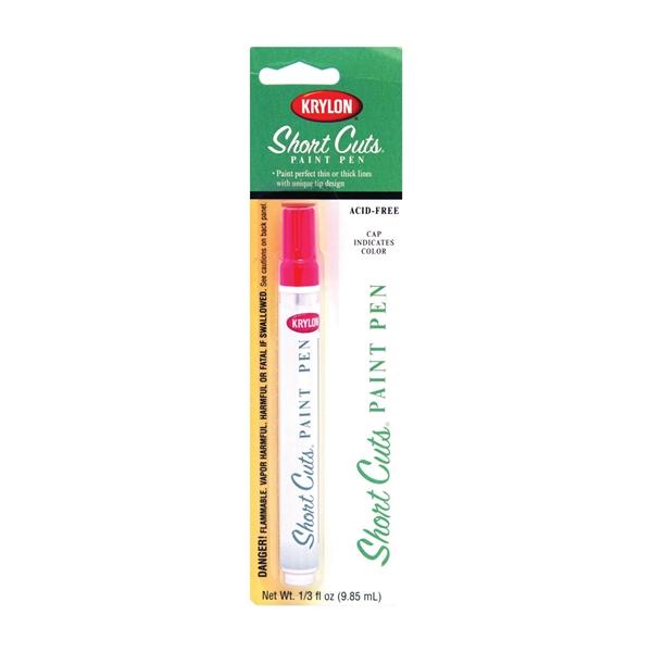Picture of Krylon Short Cuts KSCP912 Paint Pen, Chisel Tip, Glow Orange