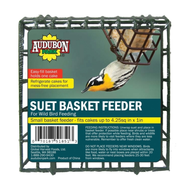 Picture of Audubon Park 12331 Suet Basket Feeder