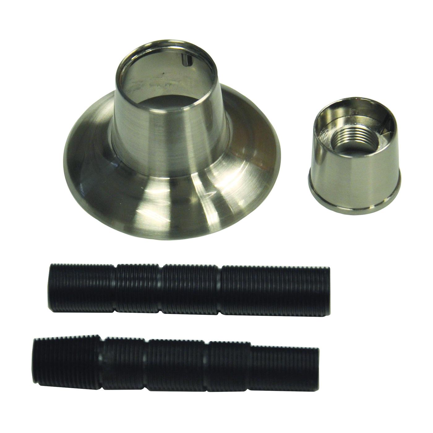 Picture of Danco 10313 Handle Flange, 1-1/8 in ID, 2-7/8 in OD, Brass/Metal/Plastic, Brushed Nickel