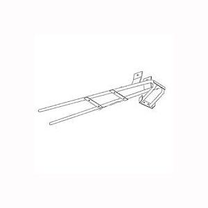 Picture of Miller 402201 Wheelbarrow Handle, Steel, For: HD6, Y5 Wheelbarrows