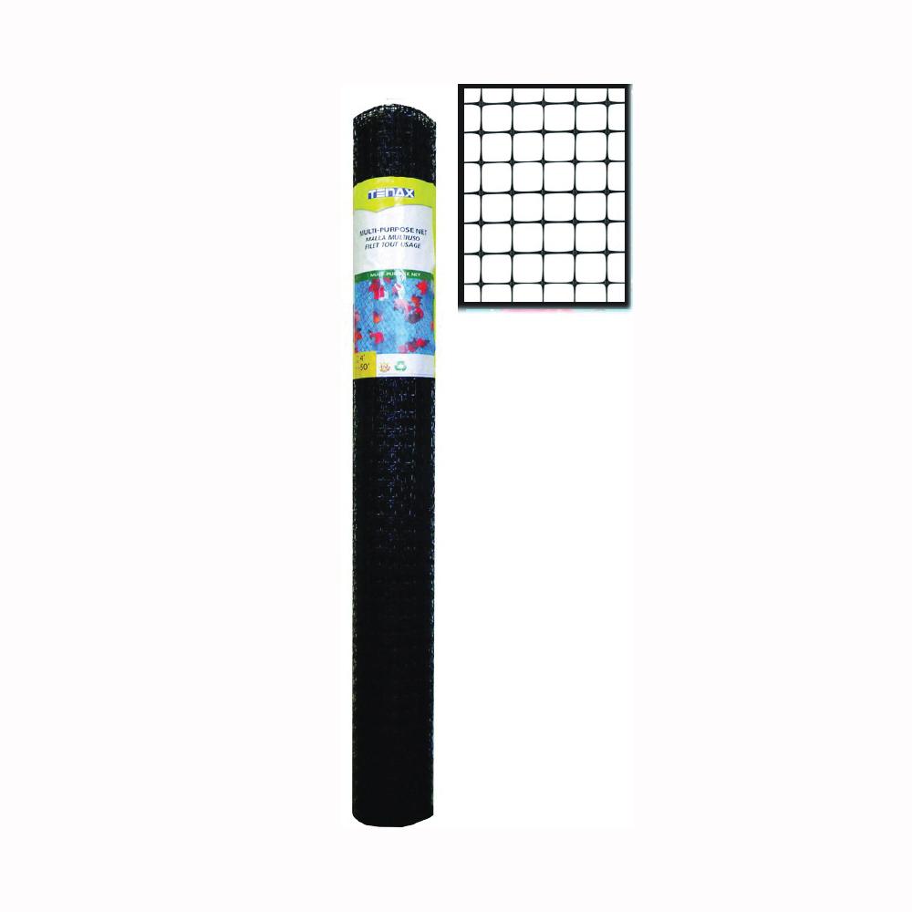 Picture of TENAX 419594 Net, 50 ft L, 4 ft H, Plastic, Black