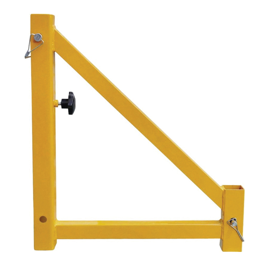 Picture of ProSource YH-TR001-2 Scaffold Outrigger, Steel, Yellow, Powder-Coated, For: 8795478 Model Scaffold