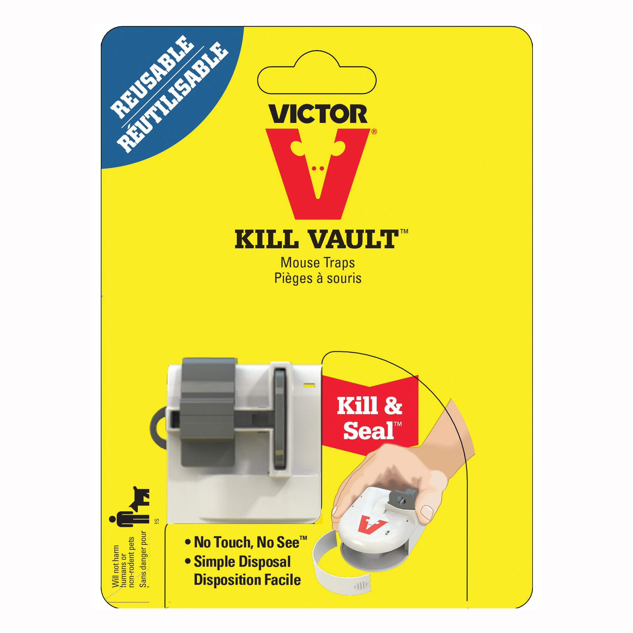 Picture of Victor M267-1 Mouse Trap, 7-1/2 in L, 5.56 in W, 2.94 in H