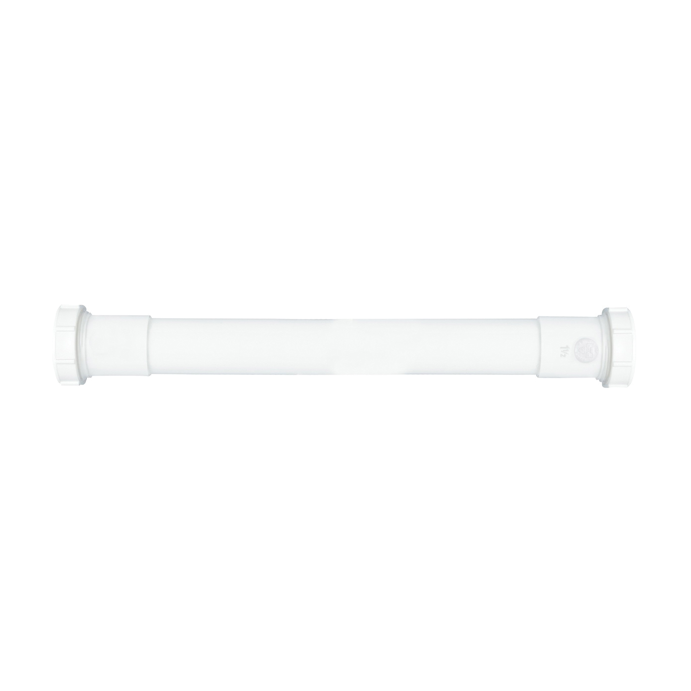 Picture of Plumb Pak PP41-16W Extension Tube, 1-1/2 in, 16 in L, Slip Joint, Plastic, White