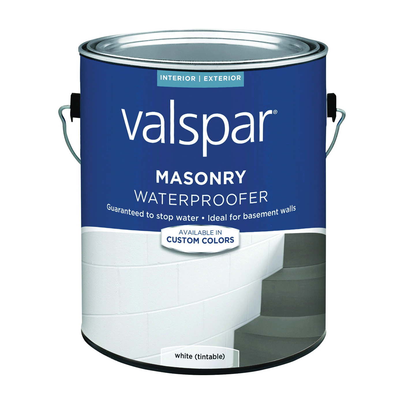 Picture of Valspar 82085 Series 82085C Masonry Waterproofer, White, Liquid, 1 gal Package, Pail