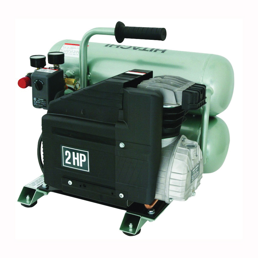 Picture of Metabo HPT EC99SM Portable Air Compressor, 4 gal Tank, 120 V, 1-Stage