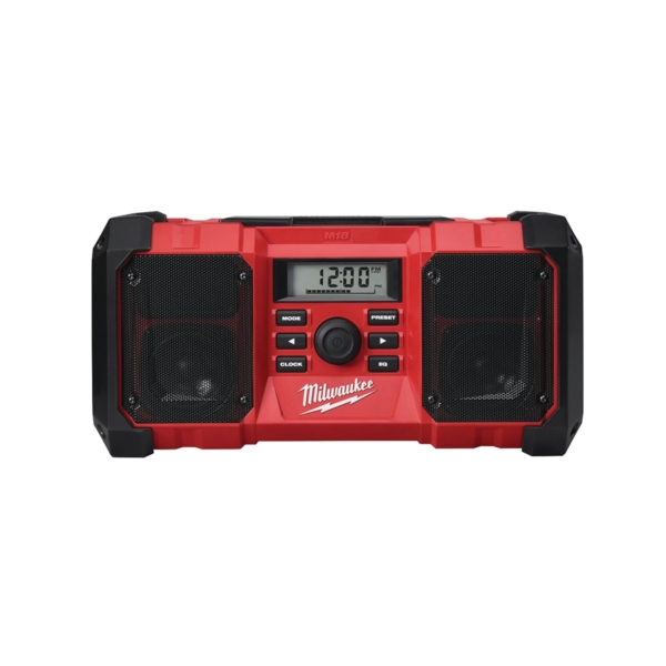Picture of Milwaukee 2890-20 Jobsite Radio, 18 V Battery, 1.5 to 5 Ah, 10 -Channel