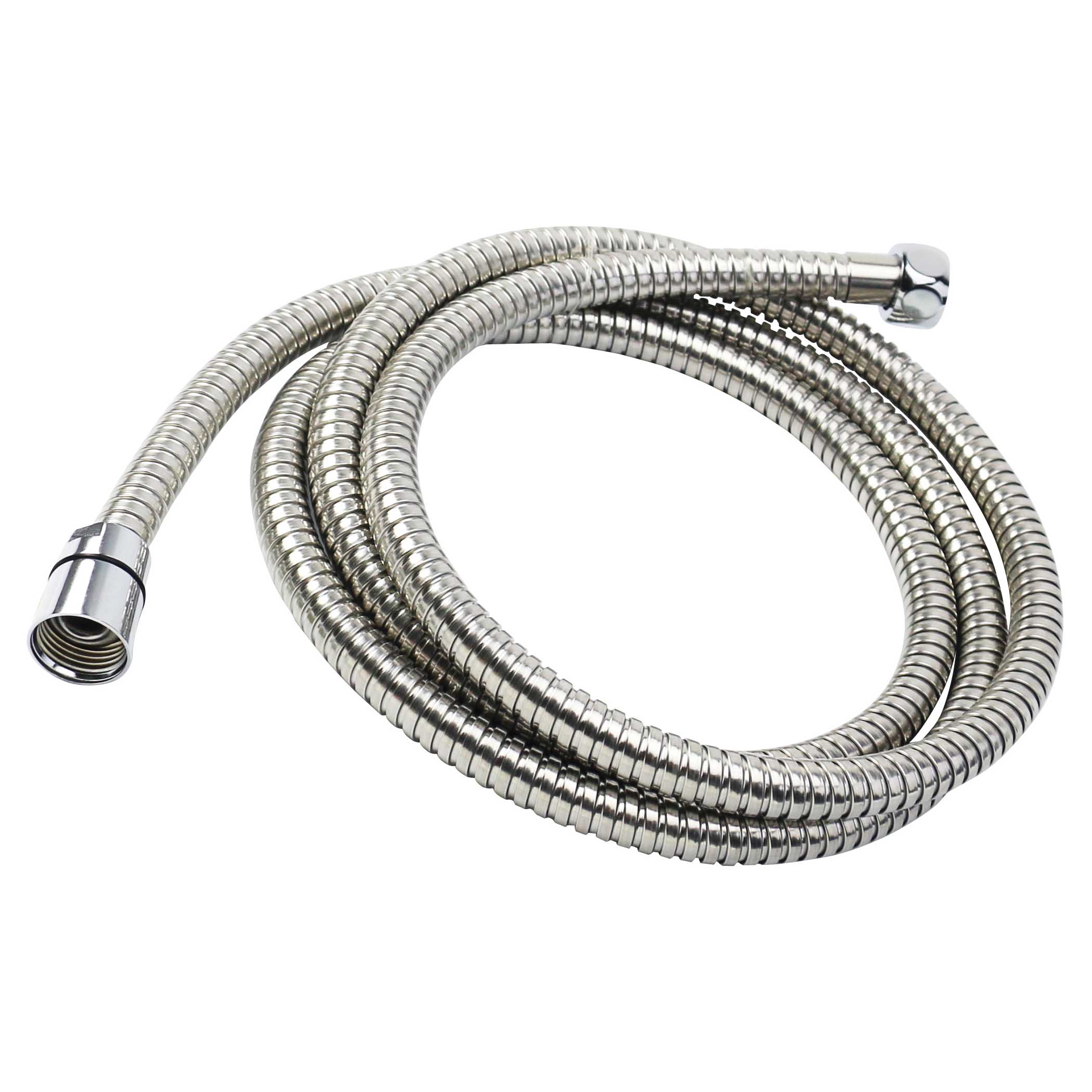 Picture of Boston Harbor 105733CP Shower Hose, 60 to 82 in L Hose, Stainless Steel, Chrome
