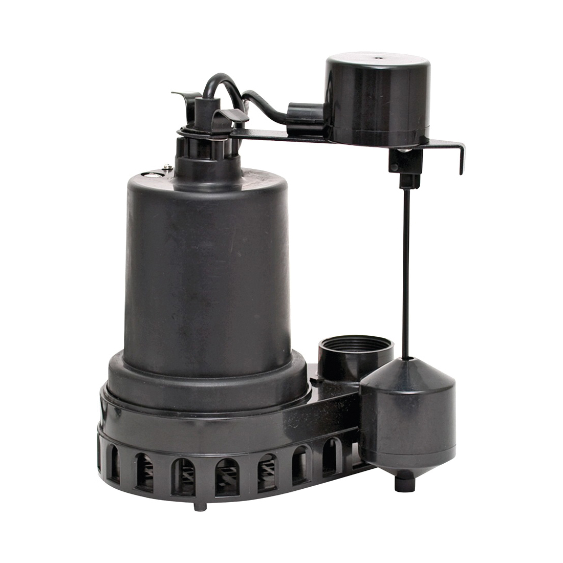 Picture of SUPERIOR PUMP 92572 Sump Pump, 4.9 A, 120 V, 0.5 hp, 1-1/2 in Outlet, 55 gpm, Thermoplastic