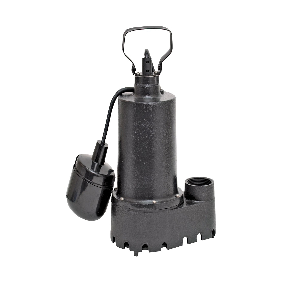 Picture of SUPERIOR PUMP 92511 Sump Pump, 7.6 A, 120 V, 0.5 hp, 1-1/2 in Outlet, 25 ft Max Head, 70 gpm, Iron