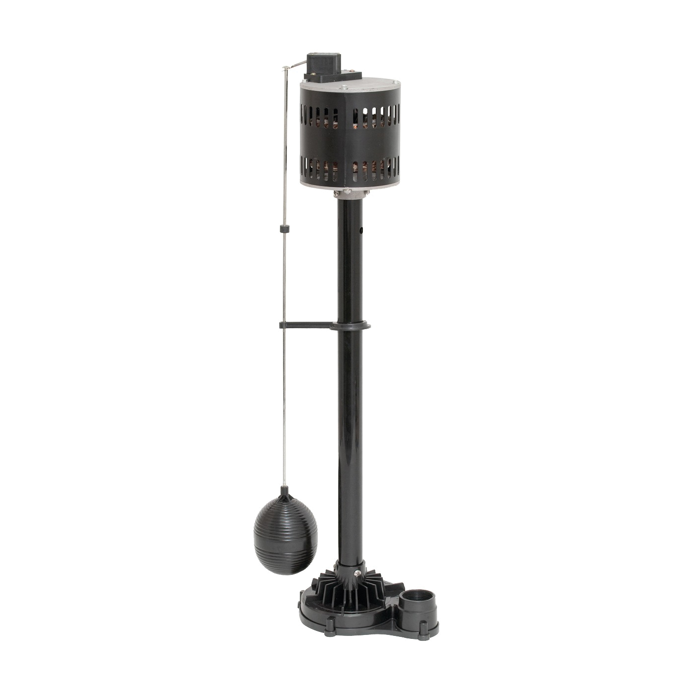 Picture of SUPERIOR PUMP 92553 Sump Pump, 1-Phase, 3.06 A, 120 V, 0.5 hp, 1-1/2 in Outlet, 60 gpm, Thermoplastic