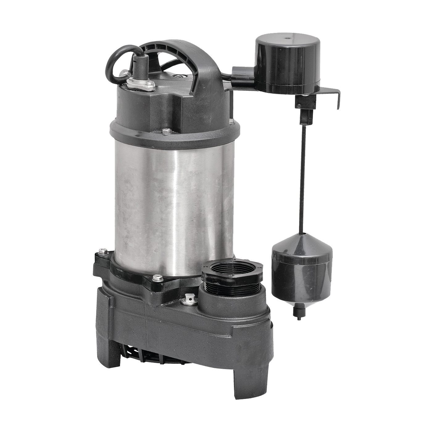 Picture of SUPERIOR PUMP 92571 Sump Pump, 7.5 A, 120 V, 0.5 hp, 2 in Outlet, 75 gpm, Iron/Stainless Steel