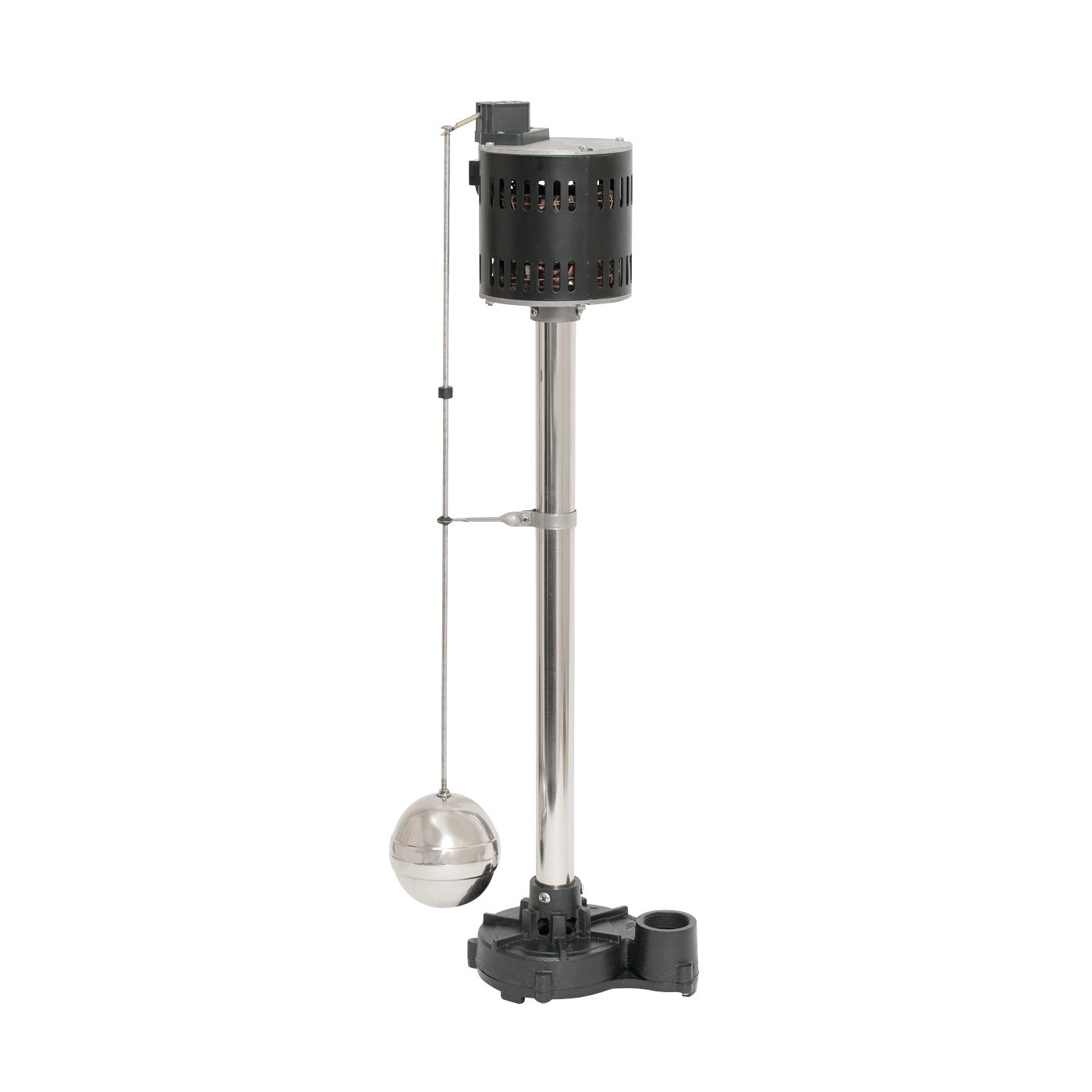 Picture of SUPERIOR PUMP 92551 Sump Pump, 1-Phase, 3.06 A, 120 V, 0.5 hp, 1-1/2 in Outlet, 60 gpm, Iron/Stainless Steel