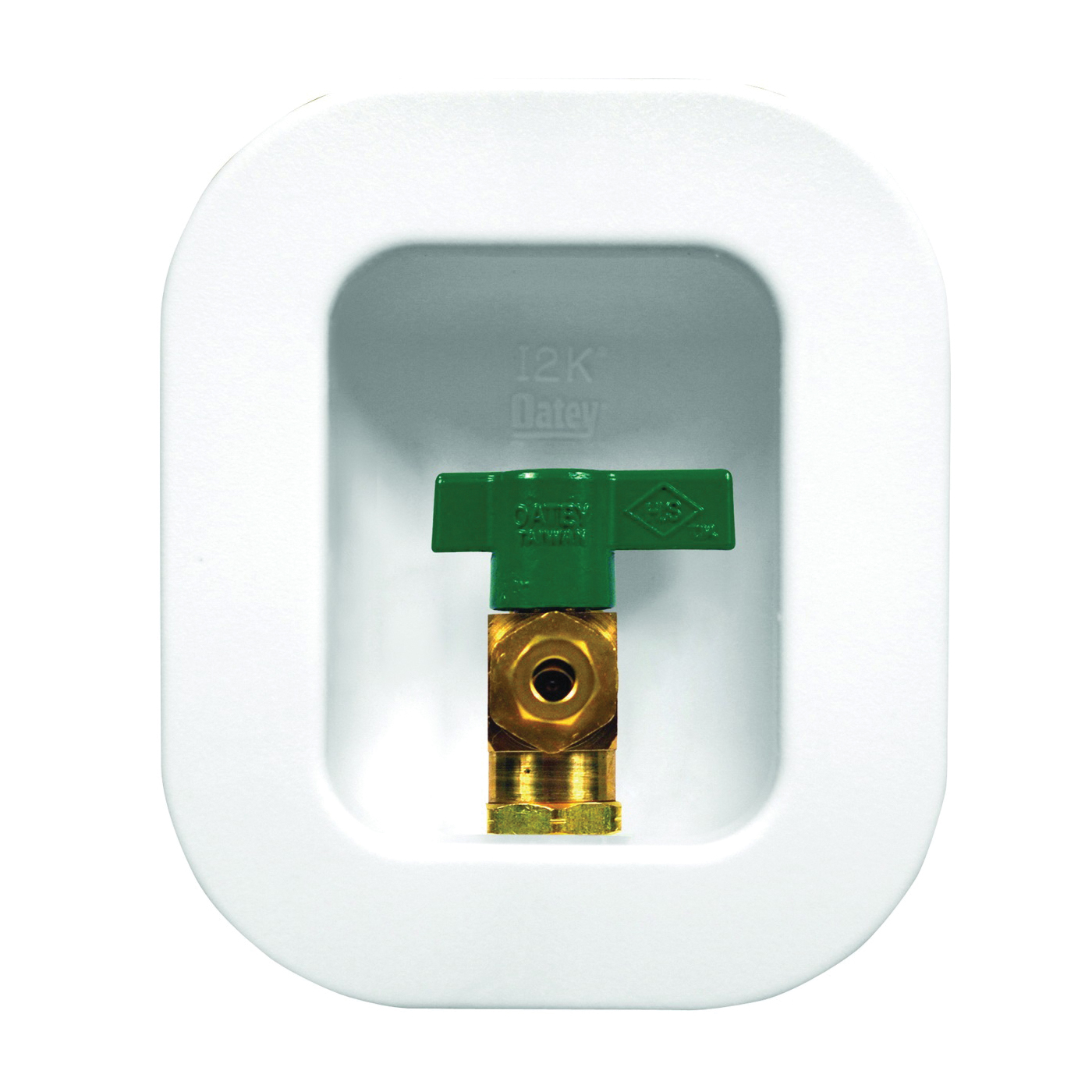 Picture of Oatey 39133 Ice Maker Outlet Box, Brass