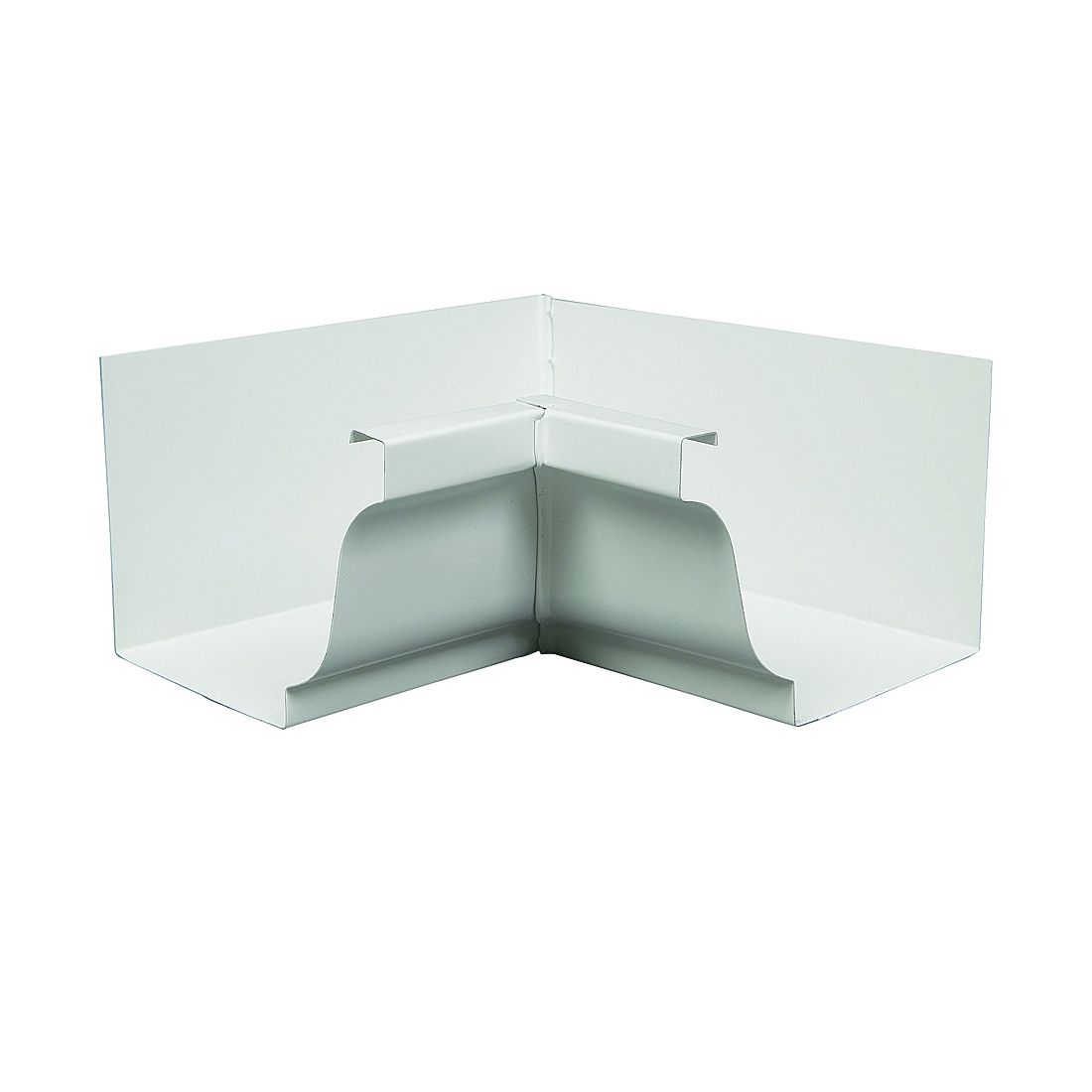Picture of Amerimax 27201 Gutter Miter, Aluminum, White