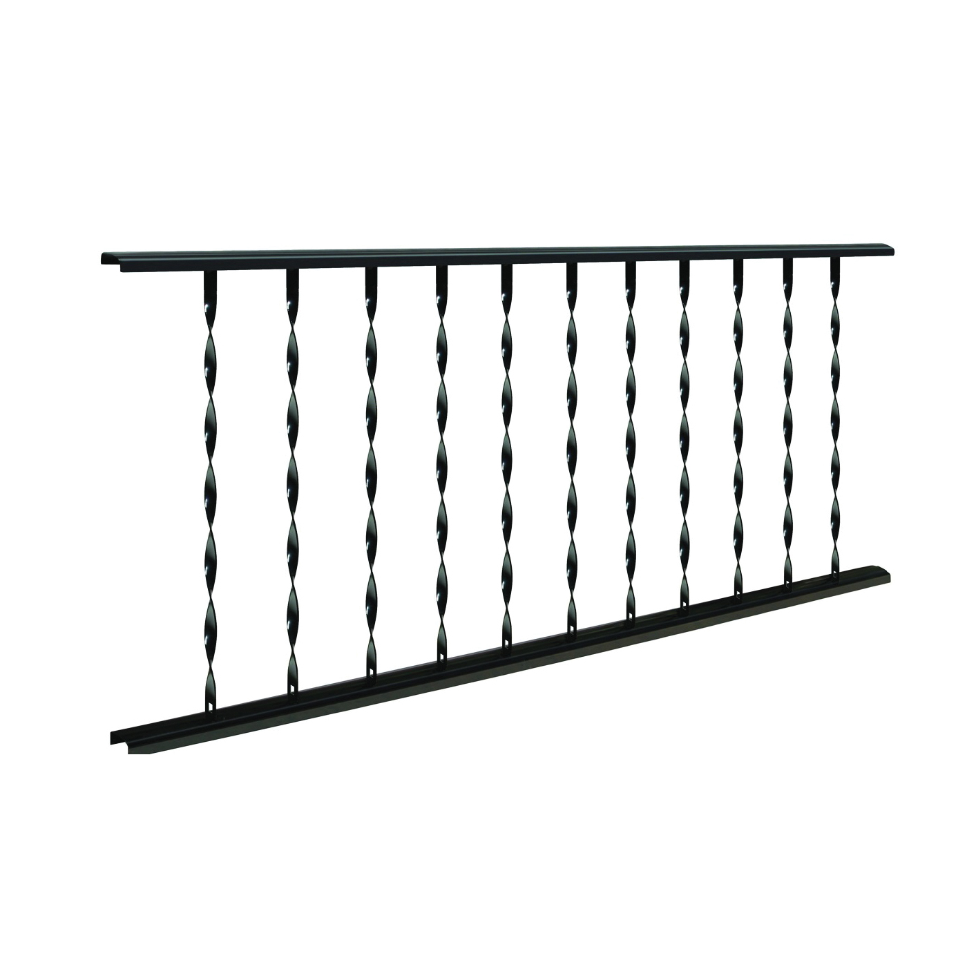 Picture of Village Ironsmith Classic CR625 Ornamental Railing, 27-3/4 in OAH, Steel Rail