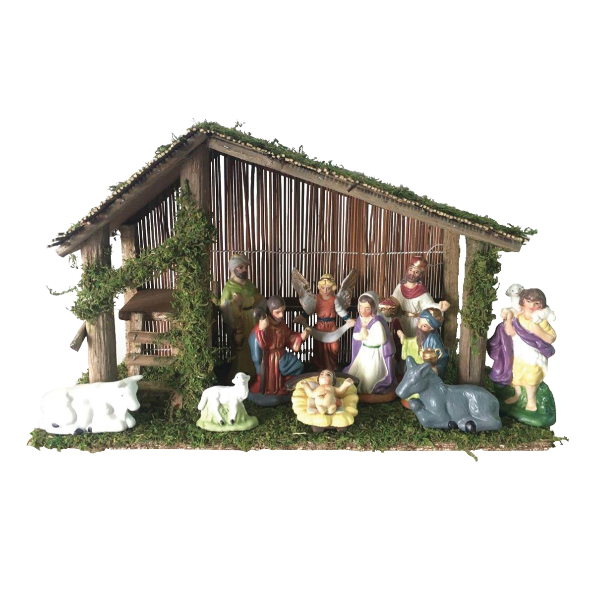 Picture of Santas Forest 89337 Christmas Nativity Set