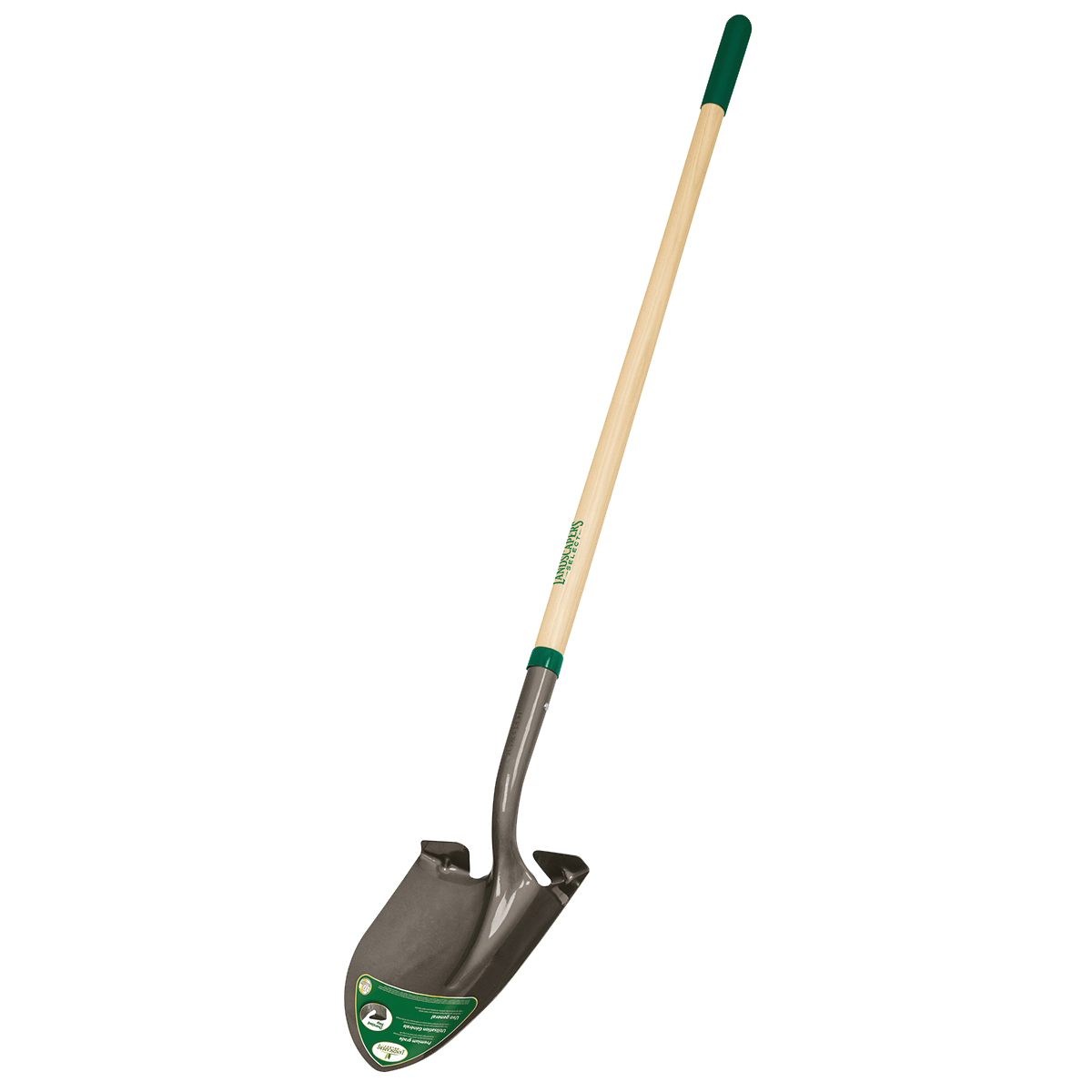 Picture of Landscapers Select 34602 Shovel, 16 ga Gauge, Wood Handle, Cushion Grip Handle, 48 in L Handle