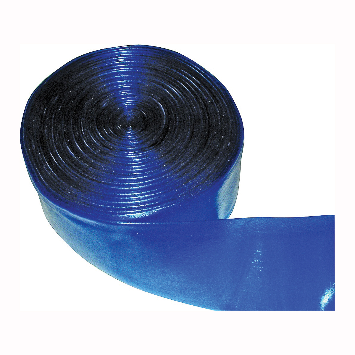 Picture of JED POOL TOOLS 60-640-050 Deluxe Transparent Backwash Hose, 50 ft L, Blue
