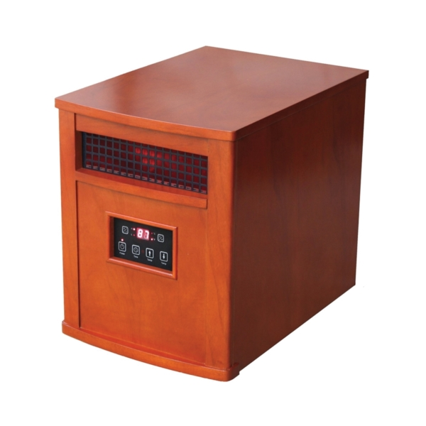 Picture of Comfort Glow QEH1500 Electric Heater, 15 A, 120 V, 1500 W, 5120 Btu, 1000 sq-ft Heating Area, Remote Control