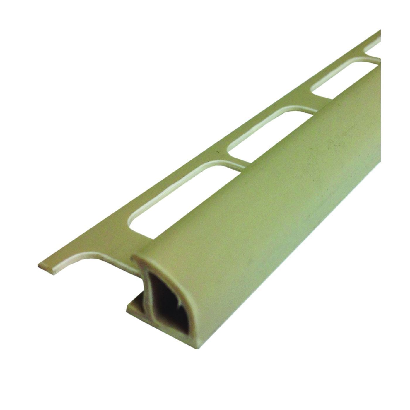 Picture of M-D 31393 Bullnose Tile Edge, 8 ft L, 1-3/8 in W, PVC, Beige