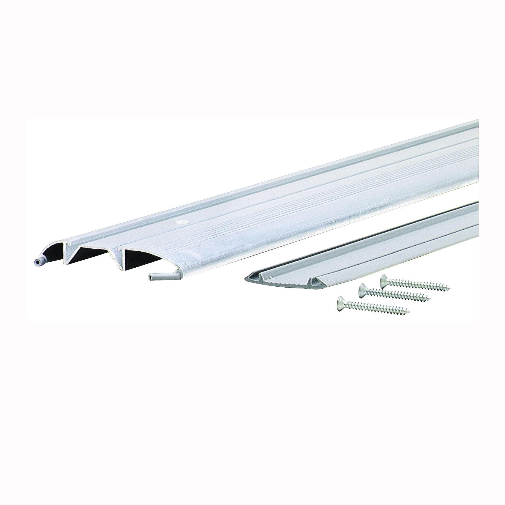 Picture of M-D 08383 Low Threshold, 36 in L, 3-3/8 in W, Aluminum, Aluminum