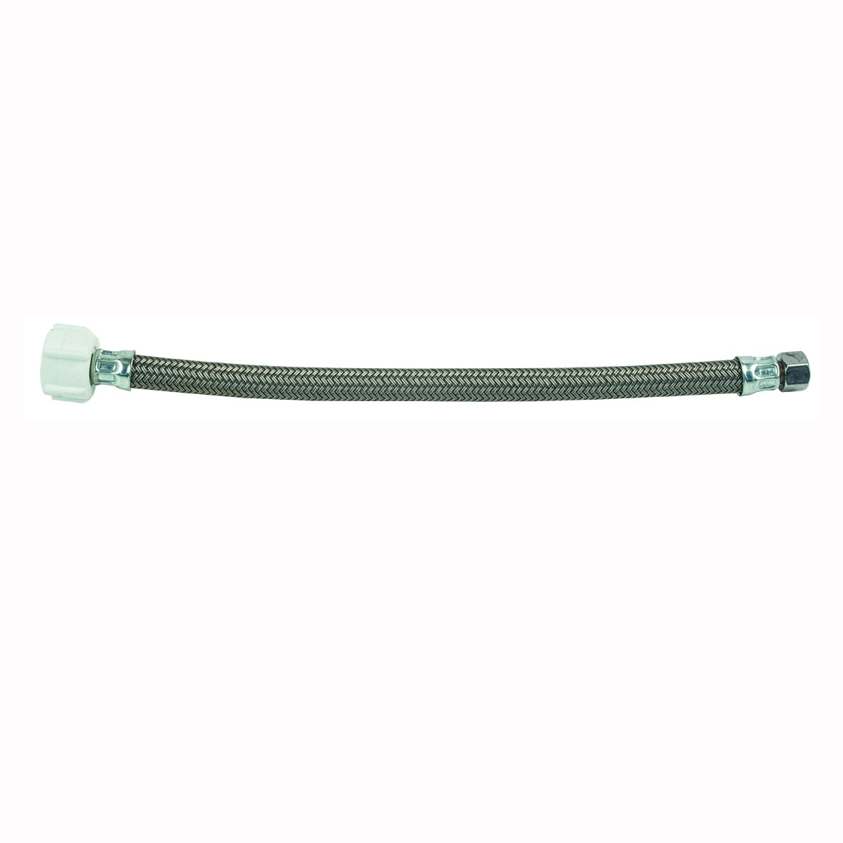 Picture of BrassCraft PSB856 Toilet Connector, 3/8 in Inlet, Compression Inlet, 7/8 in Outlet, Ballcock Outlet, 12 in L