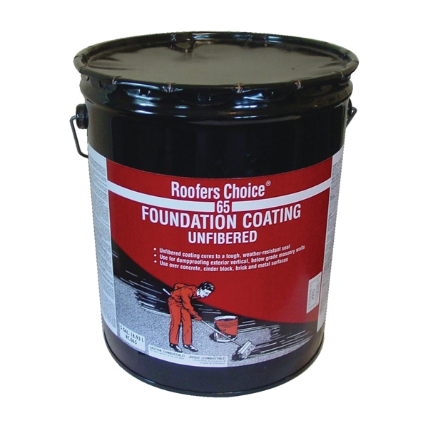Picture of Henry RC065 Series RC065070 Foundation Coating, Black, Liquid, 4.75 gal Package, Pail