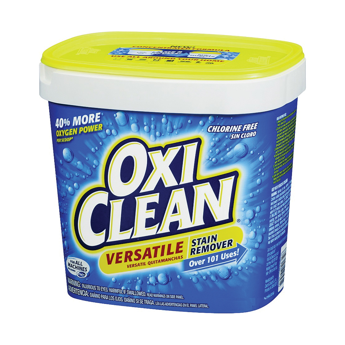 Picture of OXICLEAN 51650 Stain Remover, 5.3 lb Package, Powder, Off-White