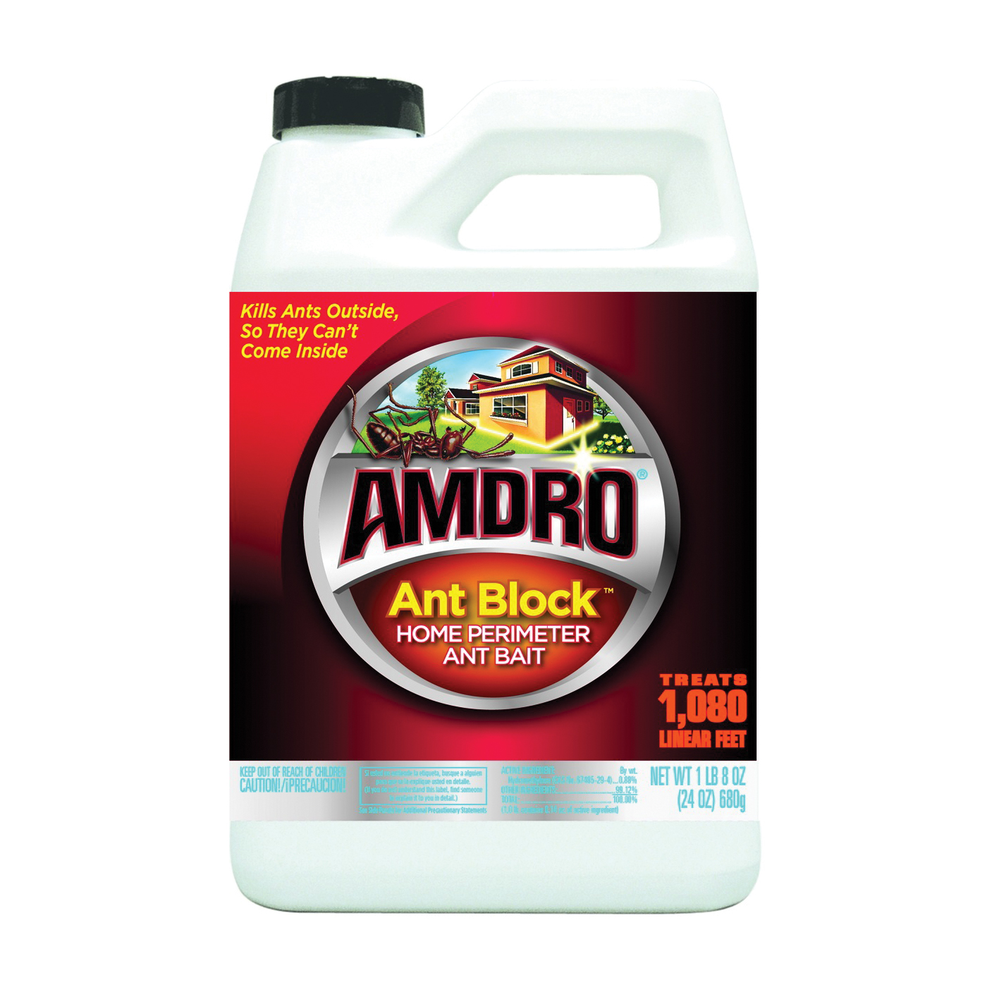 Picture of Amdro 100522802 Ant Bait, Granular, 24 oz Package, Bottle